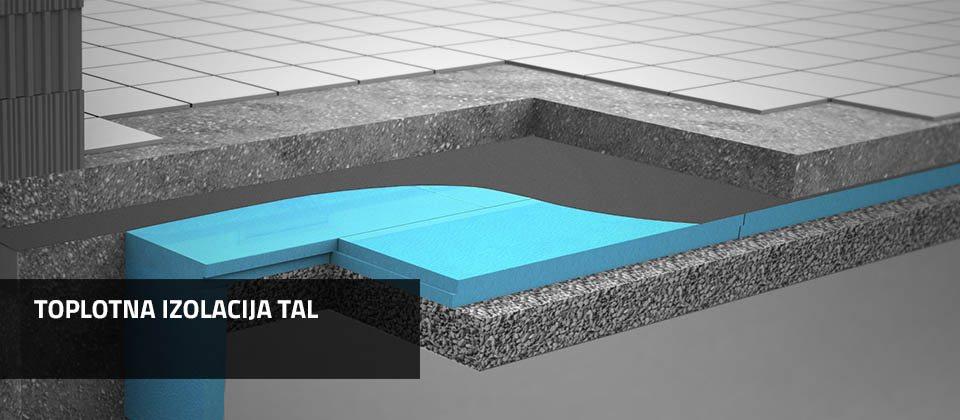 Toplotna izolacija tal | Ravatherm