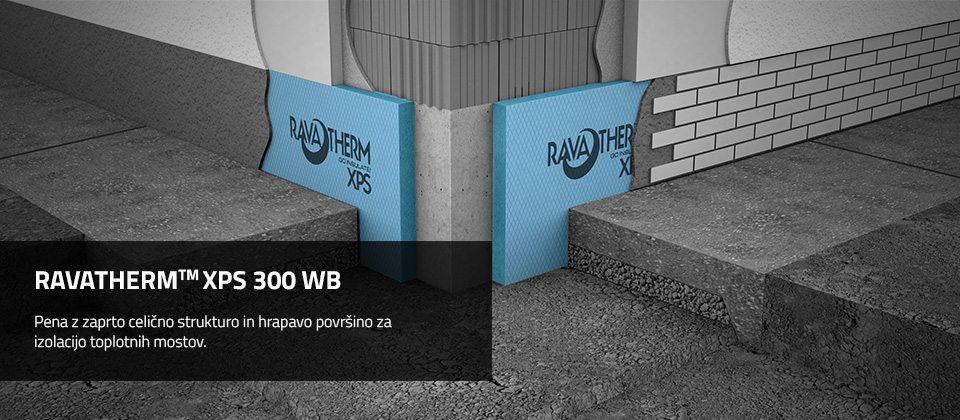RAVATHERM™ XPS 300 WB TOPLONTA IZOLACIJA