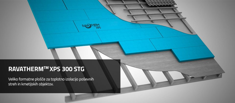 RAVATHERM™ XPS 300 STG TOPLONTA IZOLACIJA