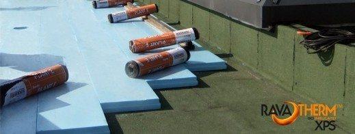 Renoviranje obrnutih krovova | Ravatherm
