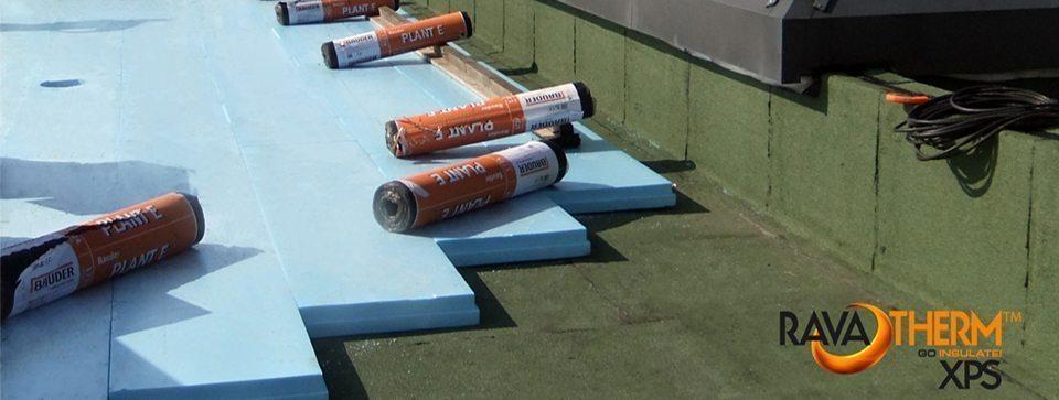Prenova obrnjenih streh | Ravatherm