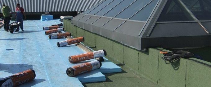 Renowacja  dachów odwróconych