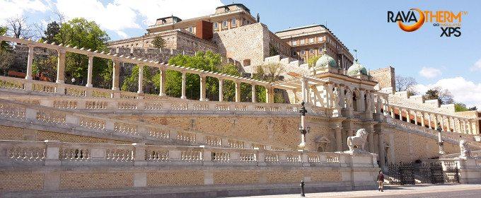 RAVATHERM XPS aj na hradnom kopci (Várhegy) v Budapešti