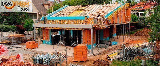 Energiatakarékos otthon kék habbal | Ravatherm